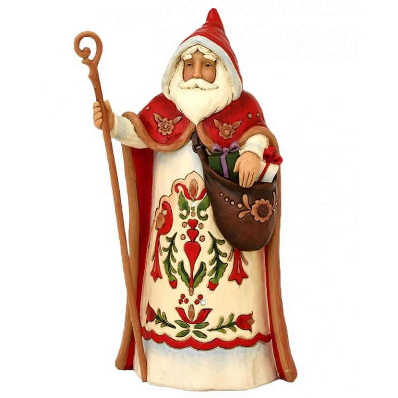 Babbo Natale Austriaco Jim Shore