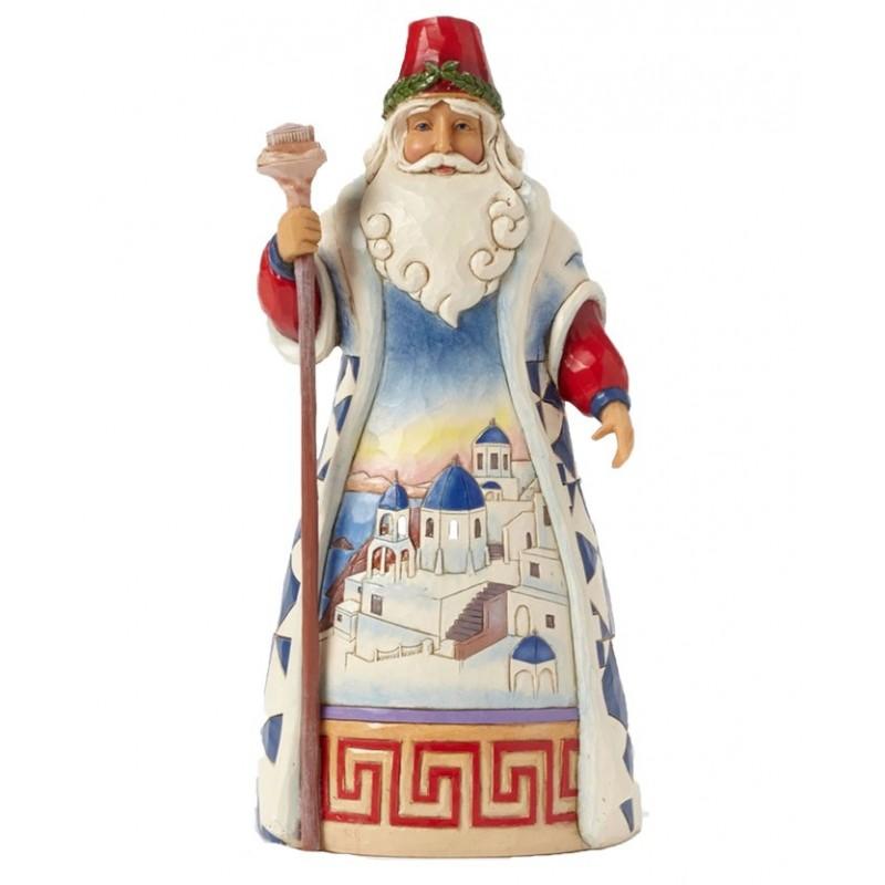Babbo Natale Greco Jim Shore