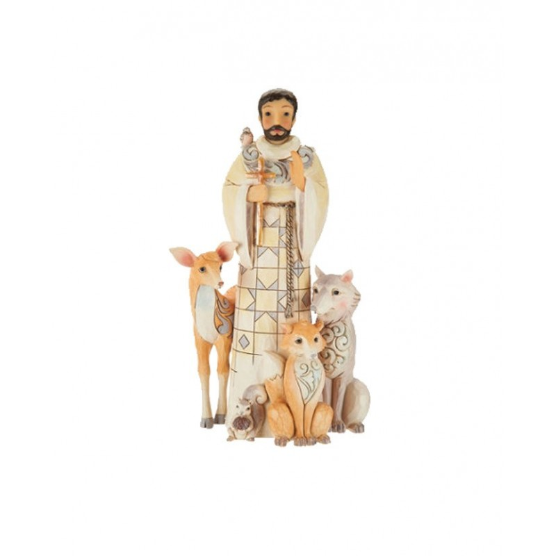 San Francesco con animali Jim Shore