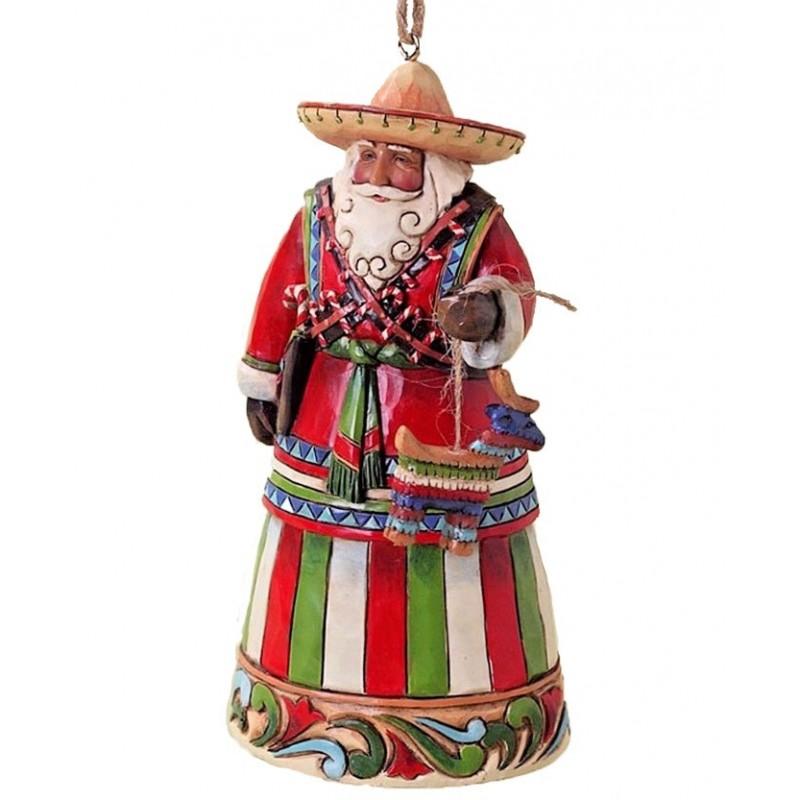 Addobbo Babbo Natale Messicano Jim Shore