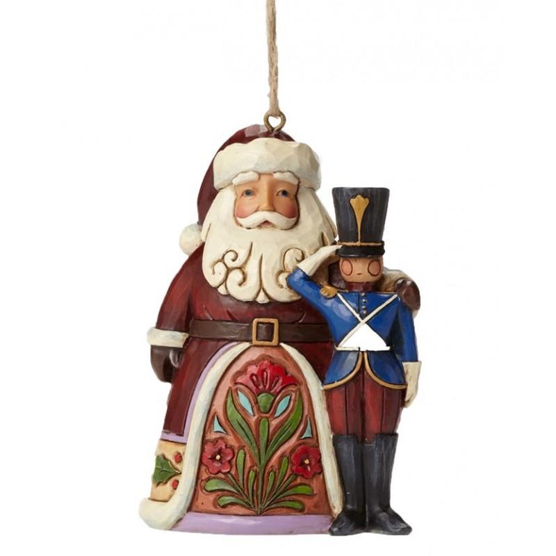 Babbo Natale con Soldato Jim Shore