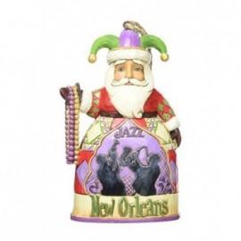 Babbo Natale New Orleans Jim Shore