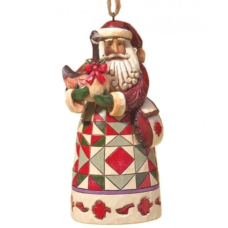Addobbo Babbo Natale Canadese Jim Shore