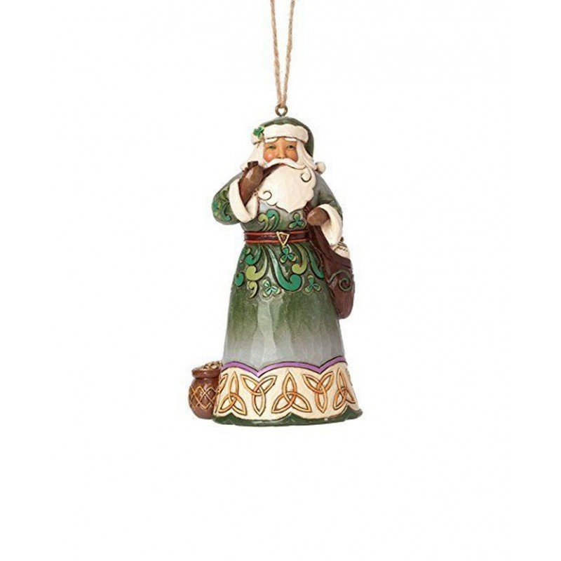 Addobbo Babbo Natale Irlandese Jim Shore