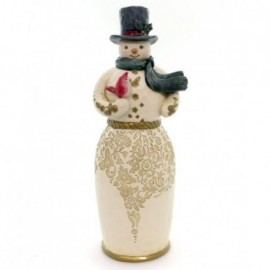 Golden Snowman Jim Shore