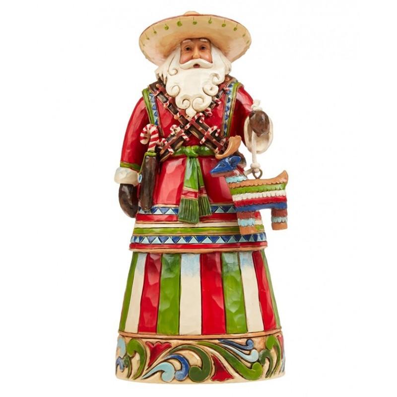 Babbo Natale Messicano Jim Shore