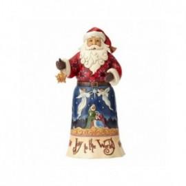 Babbo Natale Joy to the World Jim Shore