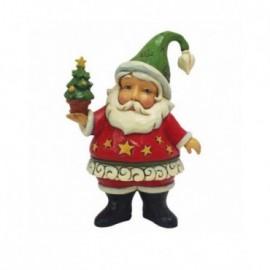 Babbo Natale in Miniatura con alberello Jim Shore