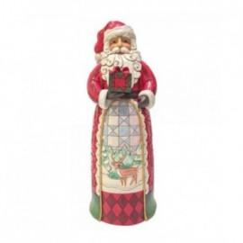 Babbo Natale con Pacco Regalo Jim Shore