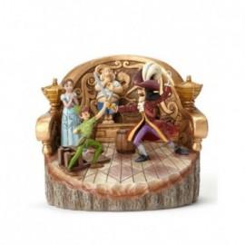 Peter Pan con Capitan Uncino Jim Shore