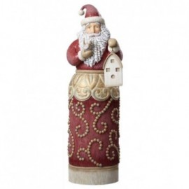 Babbo Natale delle Feste Jim Shore H 67 cm