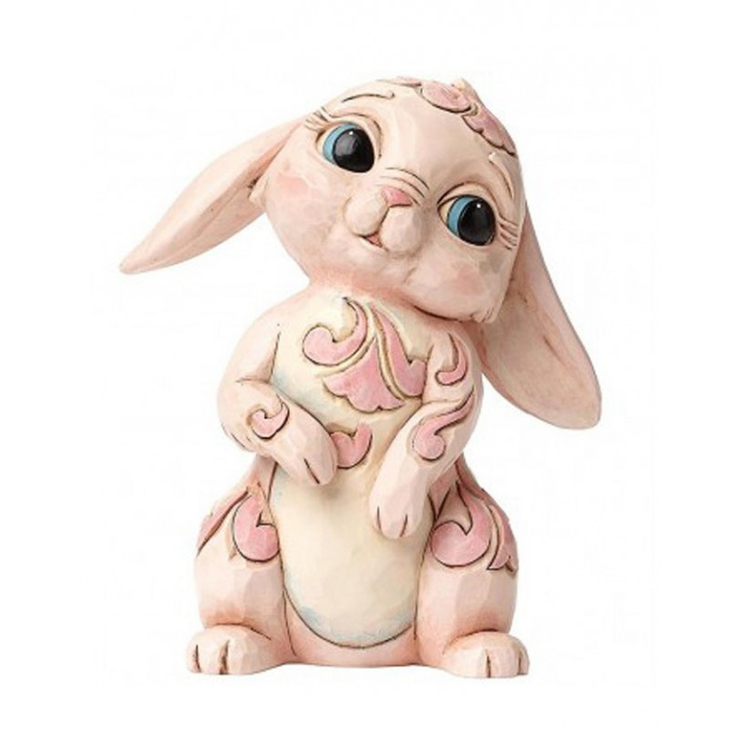 Coniglio di Pasqua in rosa