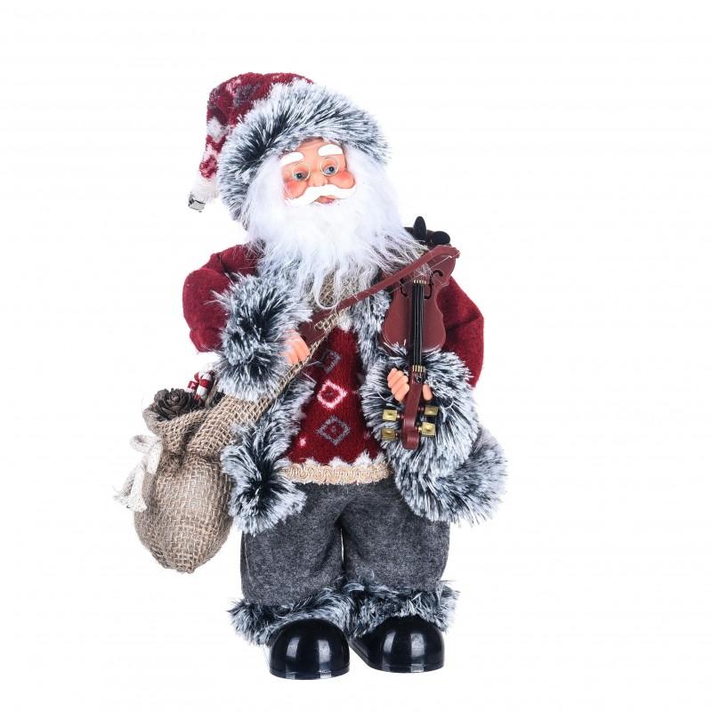 """Babbo Natale con strumento musicale """"Violino"""" con Musica e Movimento"""