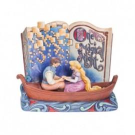 Libro di Rapunzel una notte magica