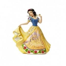 Biancaneve con Castello sull'abito