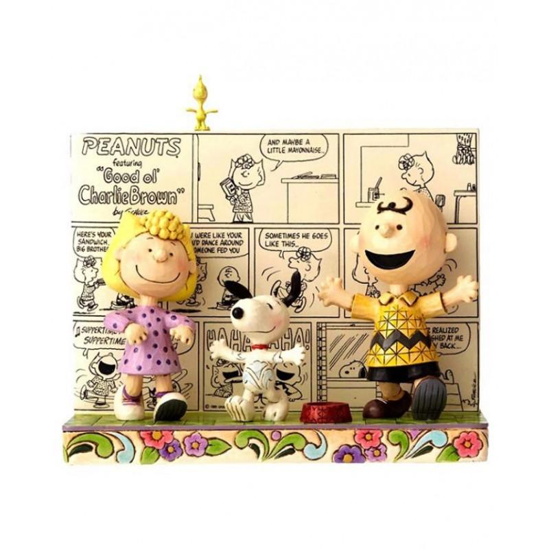 Libro con Snoopy e Charlie Brown