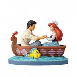 Ariel ed Eric sulla Barca in attesa del primo bacio