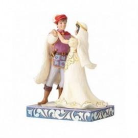 Biancaneve e il Principe Azzurro sposi