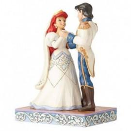 Ariel ed Eric sposi di la Sirenetta