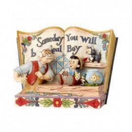 Libro di Pinocchio  un giorno diverrai un bambino vero