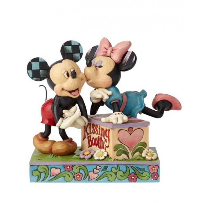 Minnie e Topolino e il banchetto dei baci